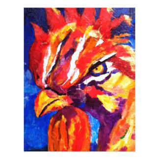 Rooster Letterhead