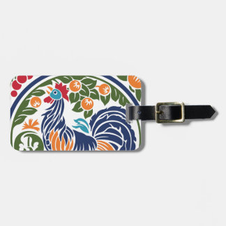 Rooster Tag For Bags