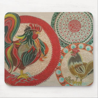 Rooster Mouse Pad