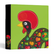 Rooster of Barcelos Nr02 - Galo de Barcelos Binder