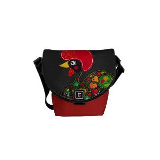 Rooster of Barcelos Nr02 - Galo de Barcelos Messenger Bag