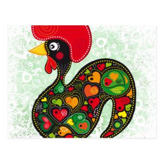Rooster of Barcelos Nr02 - Galo de Barcelos Postcard