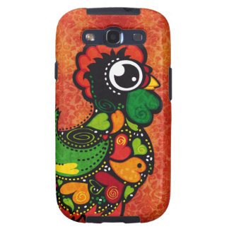 Rooster of Barcelos - Vintage Background Galaxy SIII Case