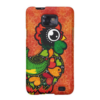 Rooster of Barcelos - Vintage Background Samsung Galaxy SII Case