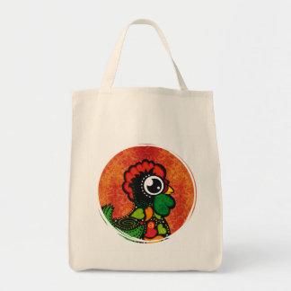 Rooster of Barcelos - Vintage Background Tote Bag