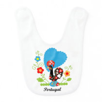 Rooster of Portugal Bib