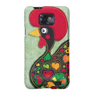 Rooster of Portugal Samsung Galaxy S2 Cases