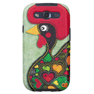 Rooster of Portugal Samsung Galaxy S3 Covers