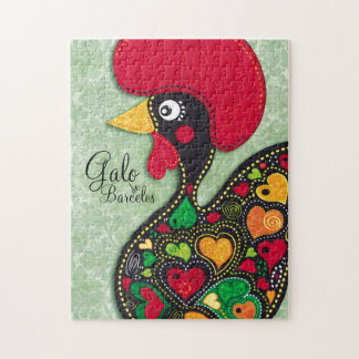 Rooster of Portugal - Galo de Barcelos Jigsaw Puzzle