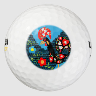 Rooster of Portugal Golf Balls