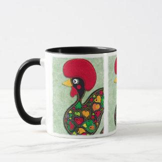 Rooster of Portugal Mug