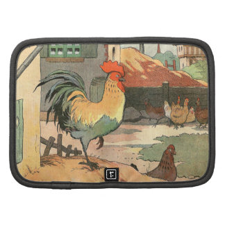 Rooster on the Farm Folio Planners