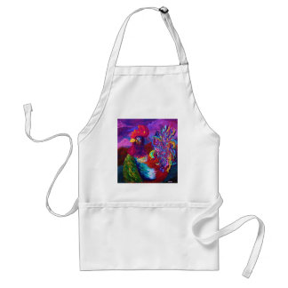 Rooster on the Horizon Adult Apron