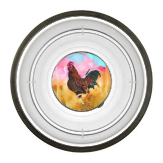 Rooster On the Run Pet Bowl