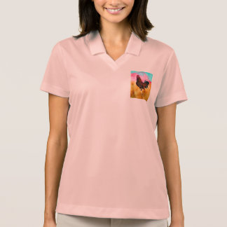 Rooster On the Run Polo Shirt