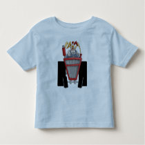 Rooster On Tractor Toddler T-shirt