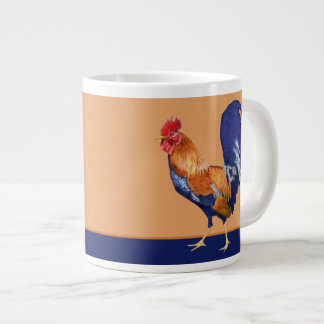 Rooster orange Jumbo Mug
