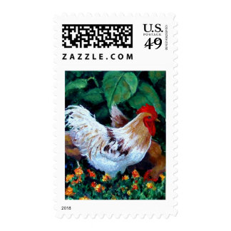 ROOSTER PAINTING STAMPS