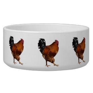 Rooster Pet Food Bowl
