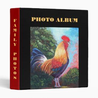 Rooster Photo Album Binder