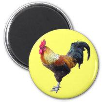 Rooster plain magnet