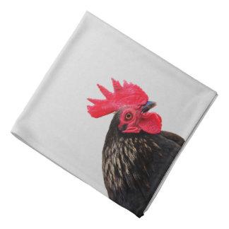 Rooster Portrait Bandana