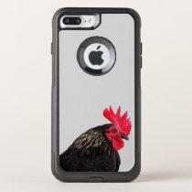 Rooster Portrait OtterBox Commuter iPhone 8 Plus/7 Plus Case