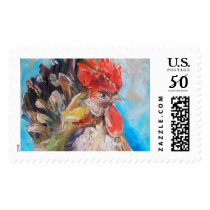 Rooster Postage