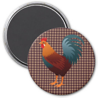 ROOSTER REALISTIC CARTOON MAGNET