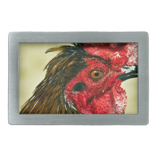 Rooster Rectangular Belt Buckle