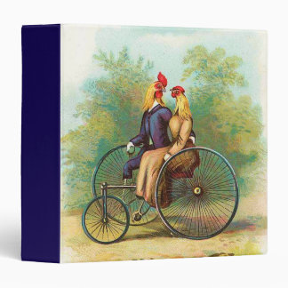 Rooster Romantic Bike Date Binder