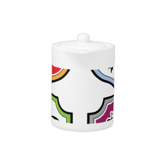 Rooster Shield Logo Teapot