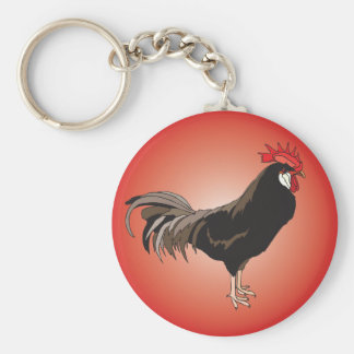 Rooster Showcase Keychain