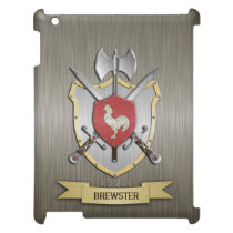 Rooster Sigil Battle Crest Armor Cover For The iPad