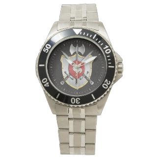 Rooster Sigil Battle Crest Wrist Watch
