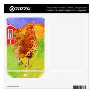 Rooster Skin For FreeAgent GoFlex