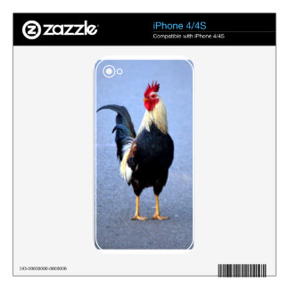 Rooster Skin For iPhone 4S