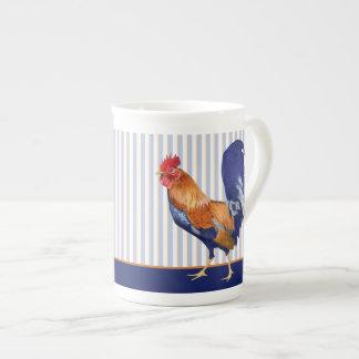 Rooster stripes Bone China Mug