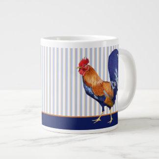 Rooster stripes Jumbo Mug