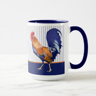 Rooster stripes Mug