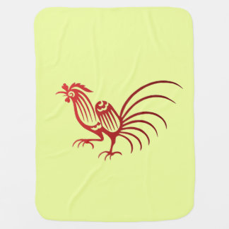 Rooster Swaddle Blanket