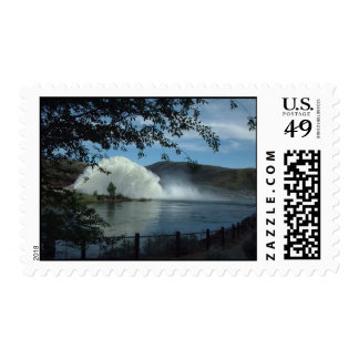 Rooster Tail Lucky Peak Reservoir Postage Stamps