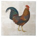 """Rooster Tile<br><div class=""""desc"""">rooster farm animal tile</div>"""