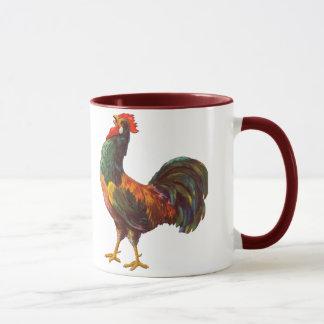Rooster Vintage Kitchen Crate Art Mug