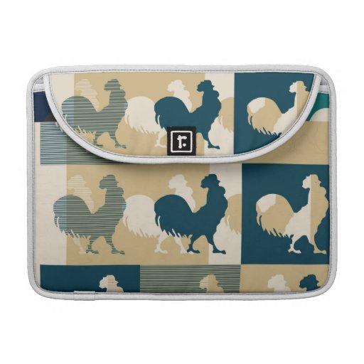 Rooster Vintage - Macbook pro Sleeves