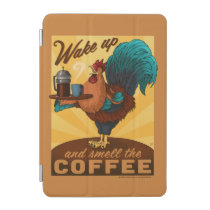 Rooster - Wake up and Smell the Coffee iPad Mini Cover