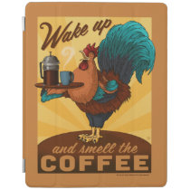 Rooster - Wake up and Smell the Coffee iPad Smart Cover