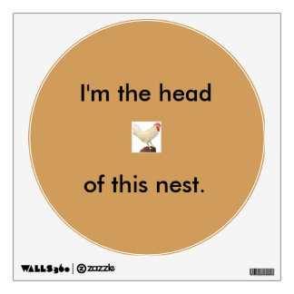 """""""Rooster wall decal"""" Room Stickers"""