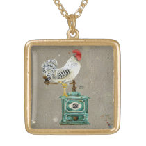 Rooster Wallace Necklace