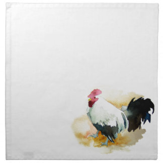 Rooster with an Attitude Cloth Napkin